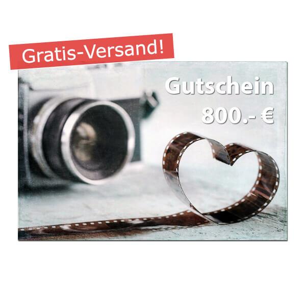 Geschenk Gutschein 800 Euro